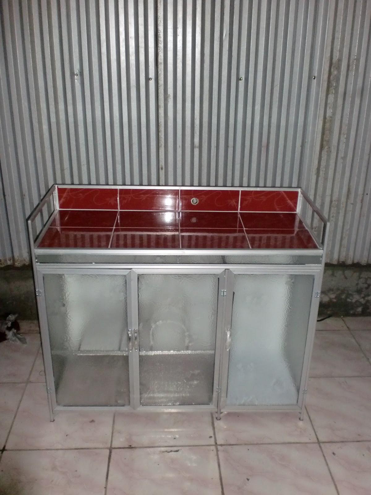 Comp Furniture And Interior Design Home Ruang Dapur Lemari Sayur Rak Alumunium Besi Str Meja Kompor